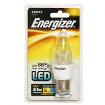 Energizer LED Candle 470lm E27 Warm White ES - 6.2w